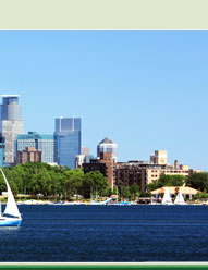 Downtown Minneapolis - Lake Calhoun